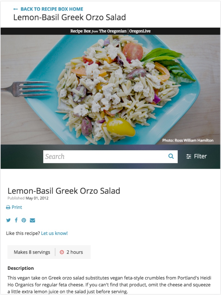 Omg recipe mobile