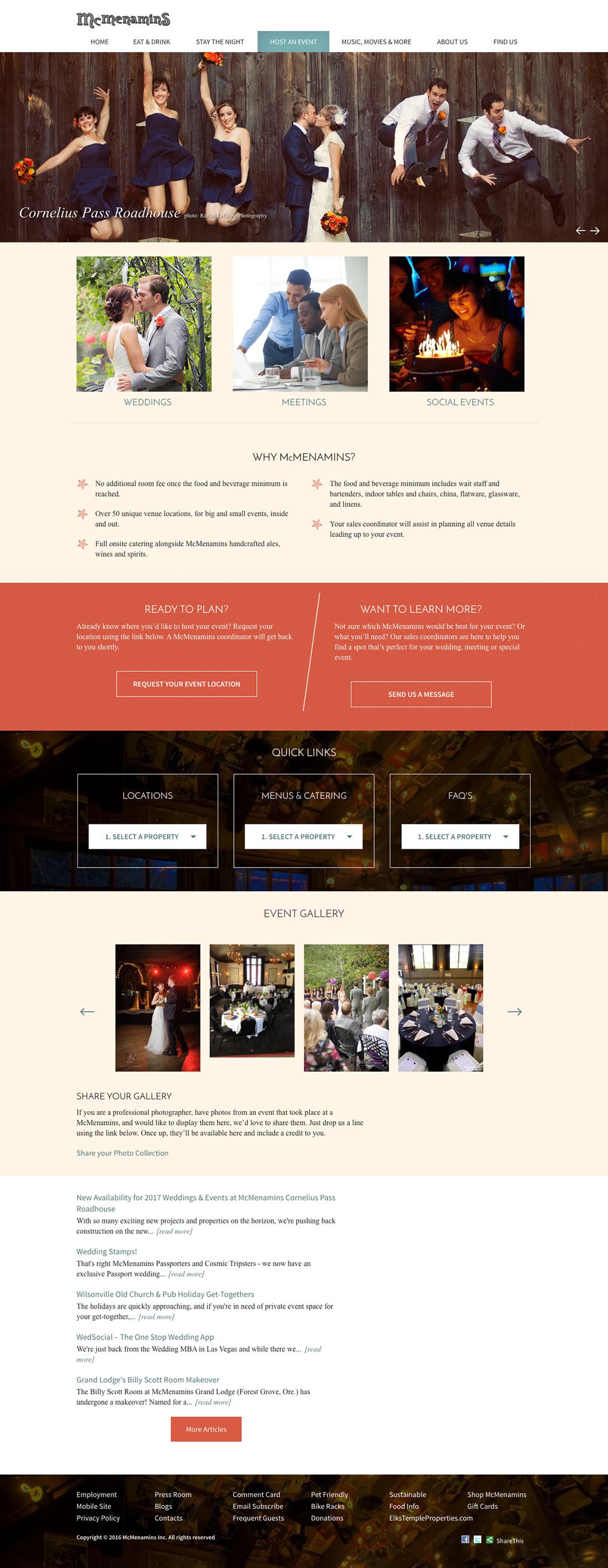Mcmenamins homepage