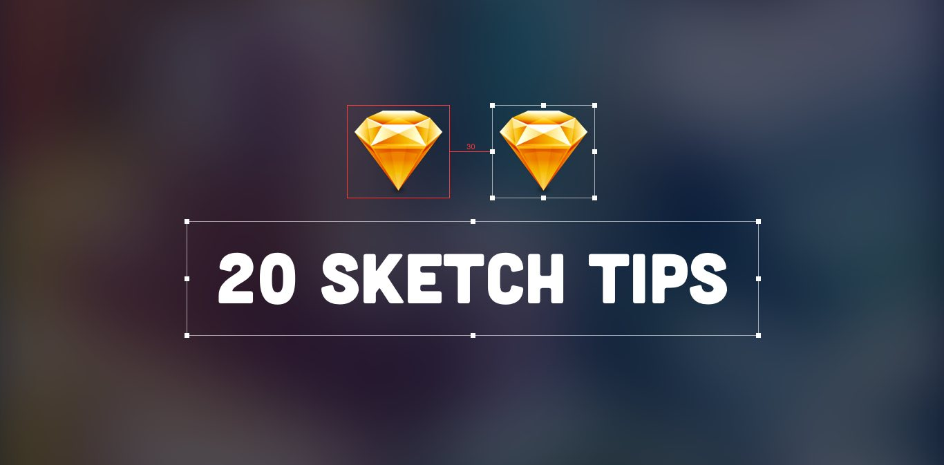 sketch shortcuts and tips