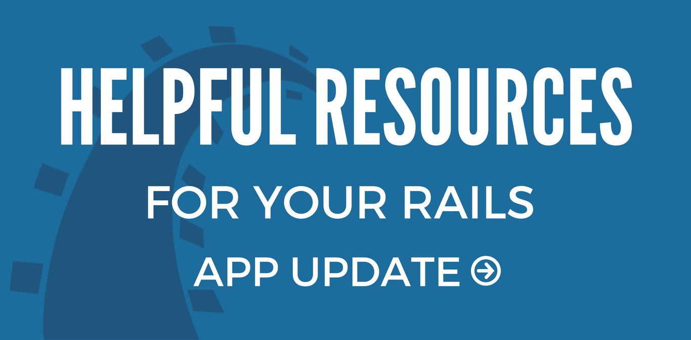 Helpful resources for rails upgrades