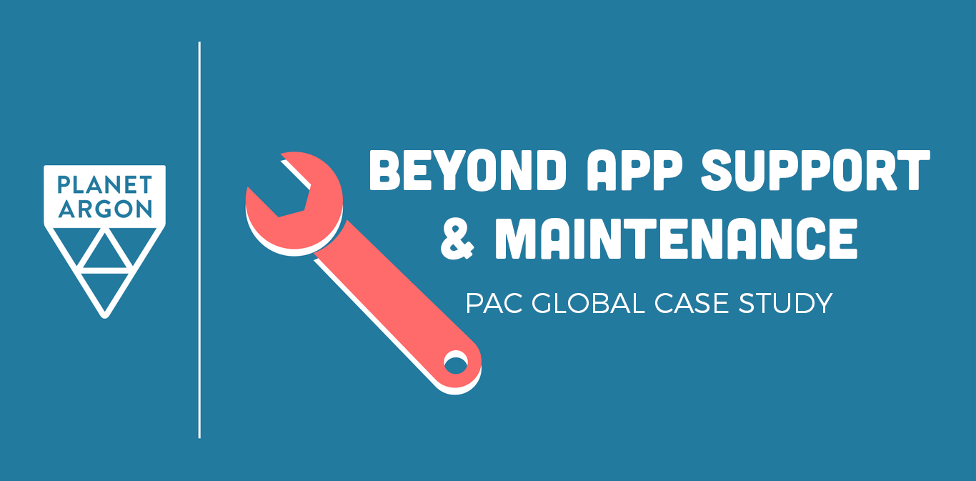 Beyond Support and Maintenance: Pac Global